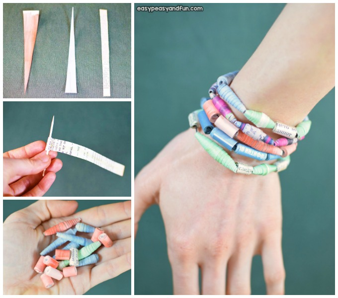 How to Make Paper Beads Paper Craft Idea