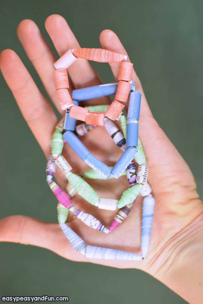 How to Make Paper Beads Paper Craft