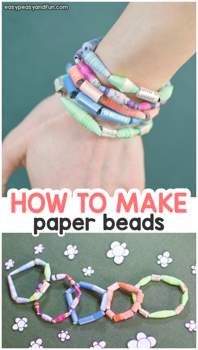 How to Make Paper Beads Tutorial