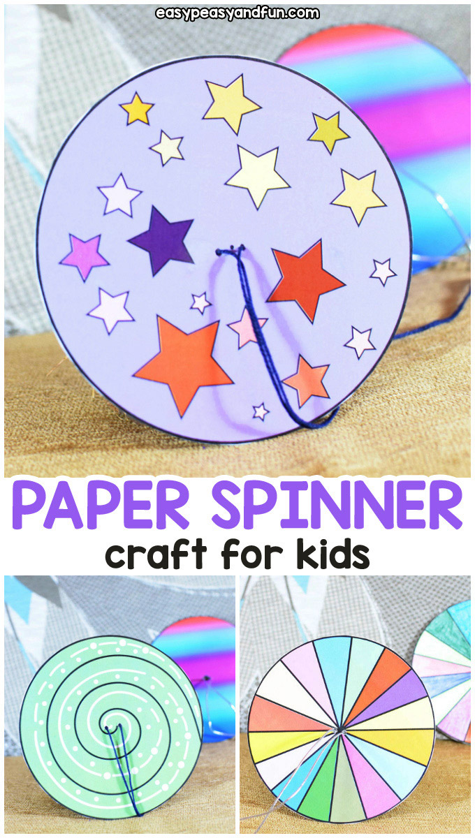 photograph relating to Twister Spinner Printable called How toward Generate a Paper Spinner - Uncomplicated Peasy and Enjoyment