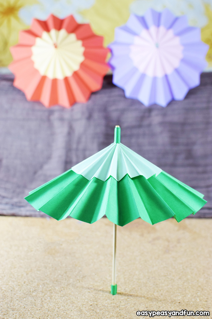 How to Make Paper Umbrellas | 1020x680