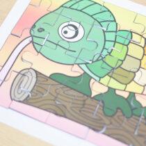 Printable Chameleon Puzzle
