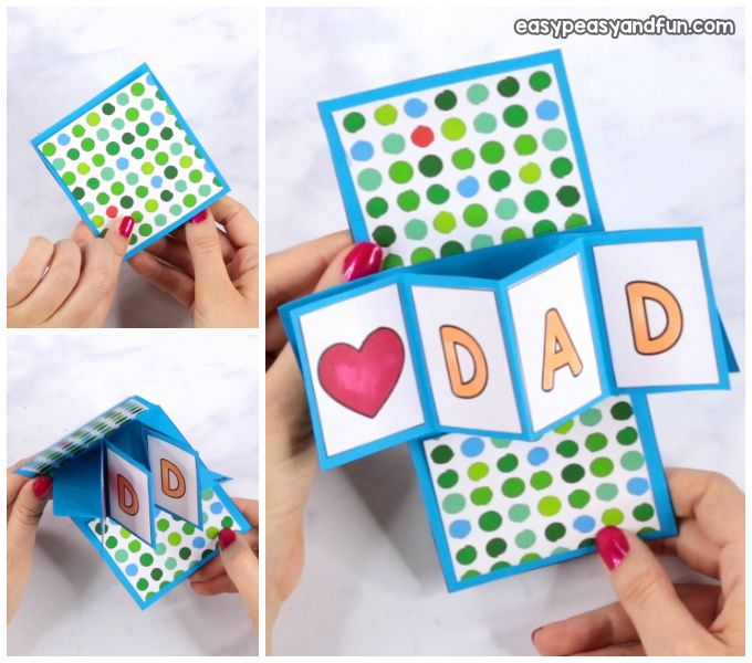 Twist and Pop Fathers Day Craft for Kids