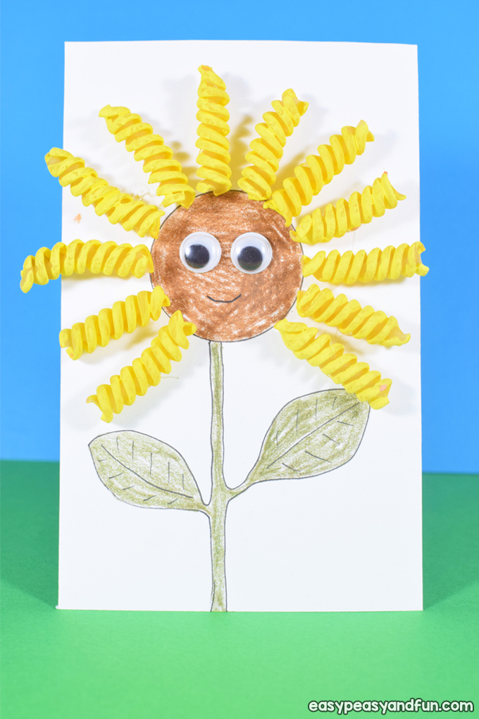 Easy Pasta Crafts Ideas for Kids to Make