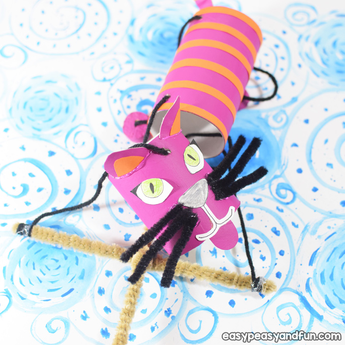 How To Make a Cat Marionette Puppet for Kids