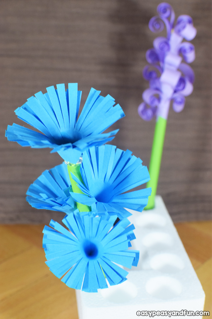 How to Make Easy Paper Flower - Making Paper Flowers Step by Step ... | 1020x680
