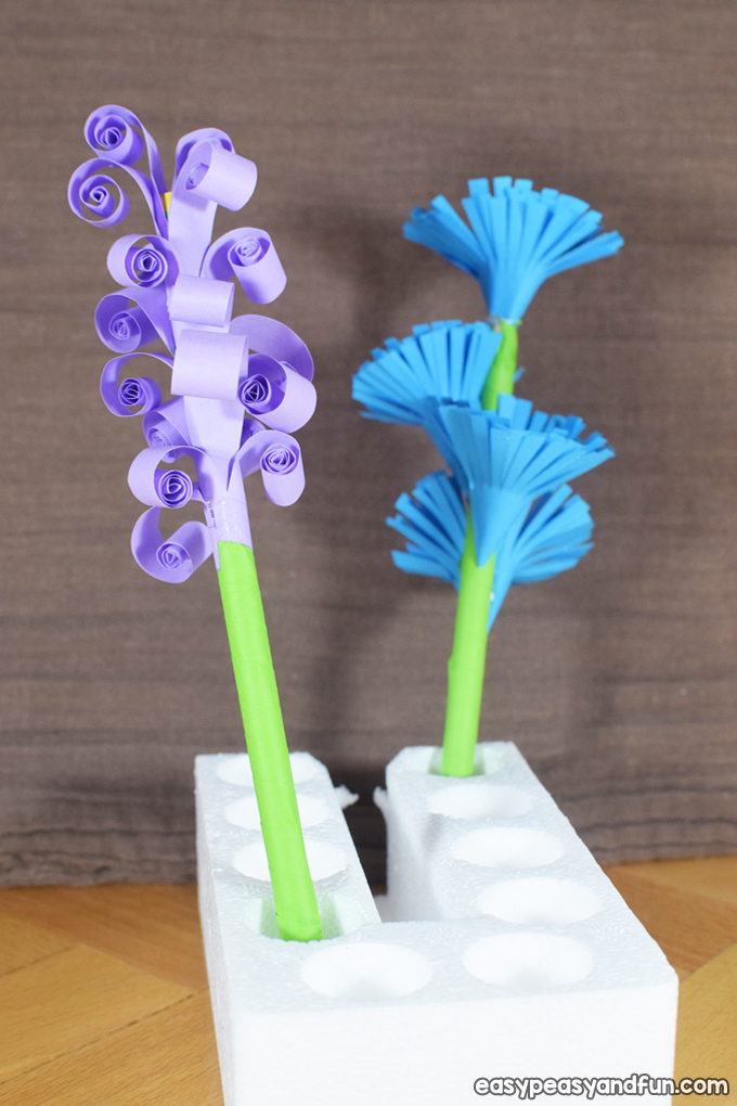 How to Make Easy Paper Flowers Craft for Kids