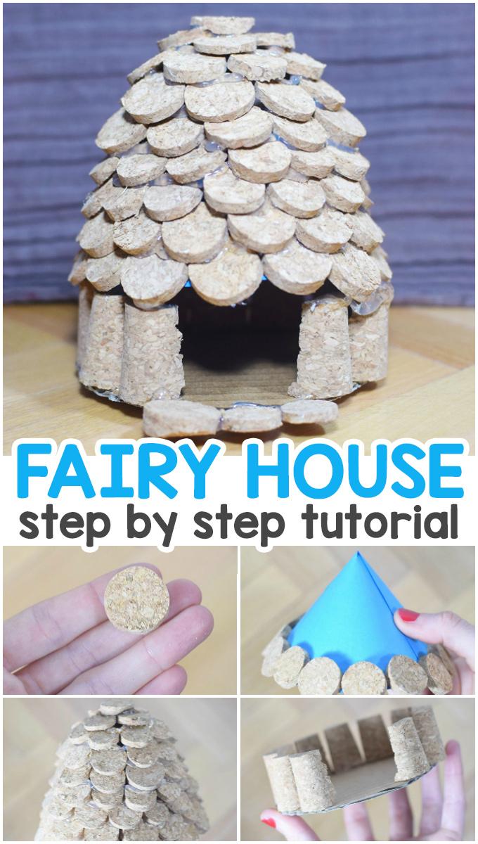How to Make a Cork Fairy House