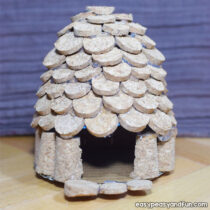 How to Make a Cork Fairy House