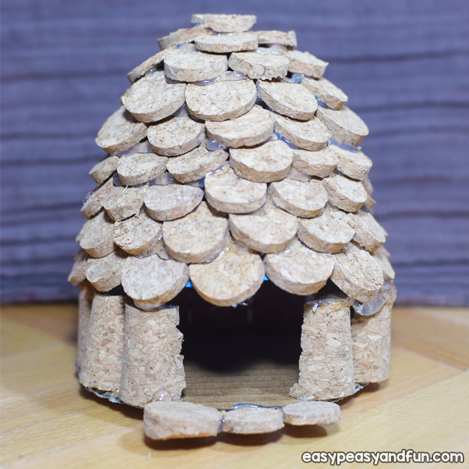 How to Make a Cork Fairy House for Kids