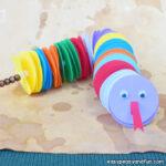 Paper Circles Snake Craft for Kids to Make