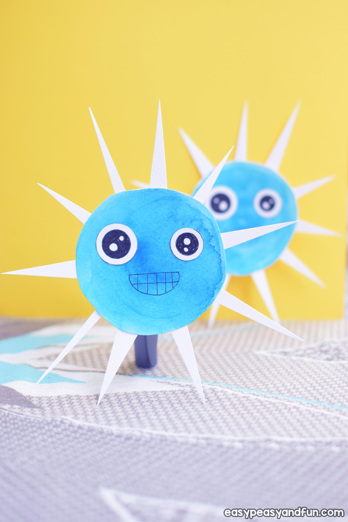 Sea Urchin Craft for Kids