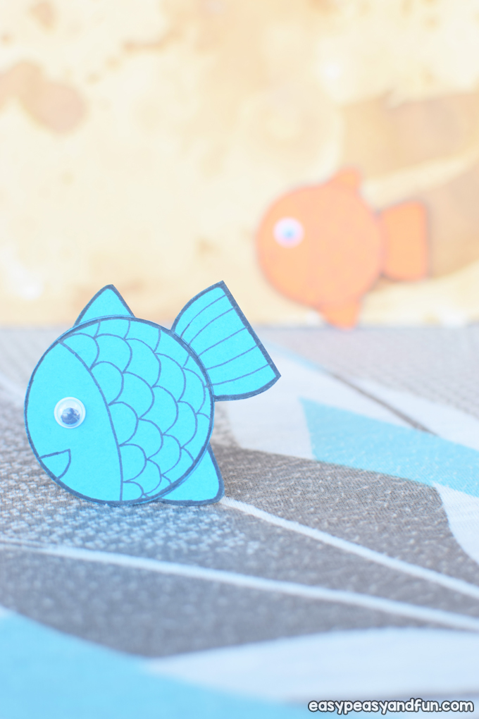 Simple Paper Fish Craft for Kids