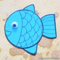 Simple Paper Fish Craft