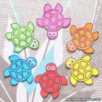 Simple Paper Turtles