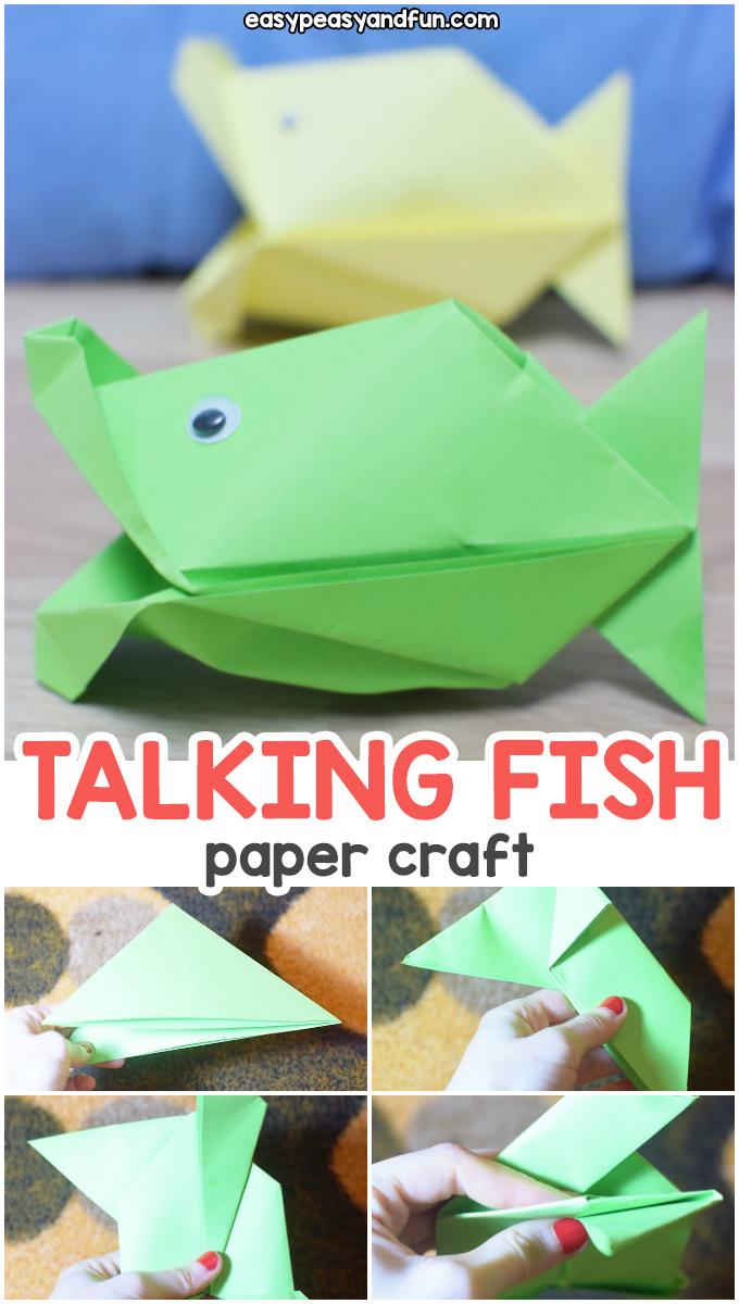 Talking Fish Paper Craft