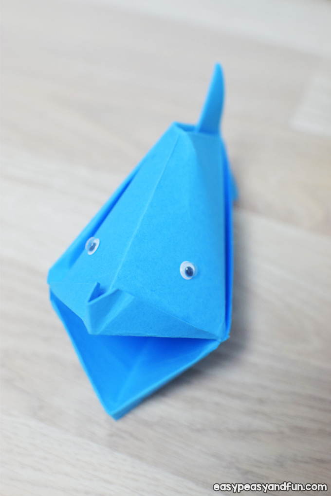 Talking Fish Paper Craft for Kids