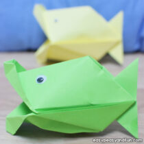 Talking Fish Paper Craft