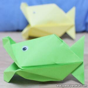 Talking Fish Paper Craft for Kids to Make