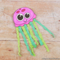 Tissue Paper Jellyfish Craft