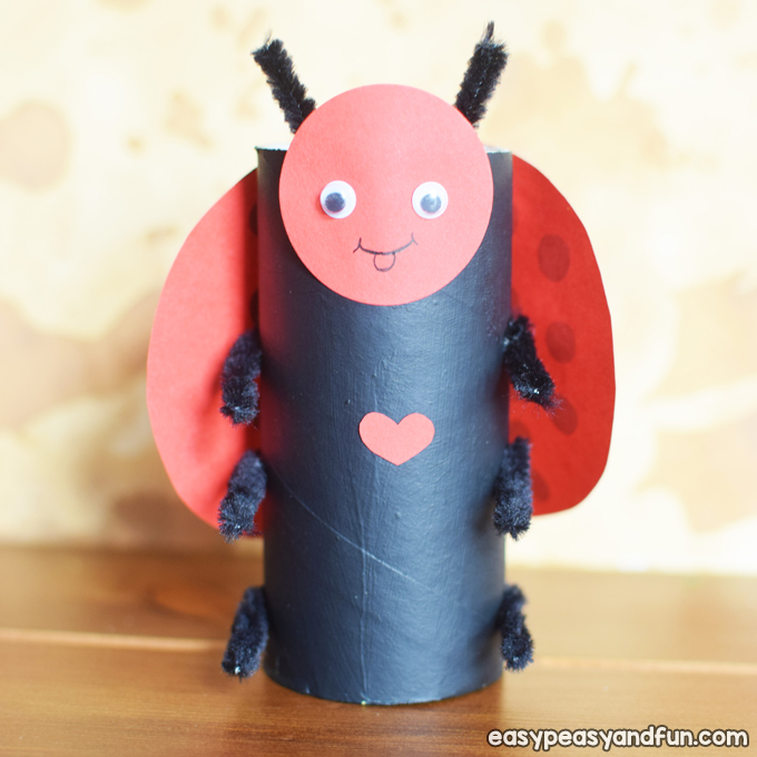Toilet Paper Roll Bugs Craft for Kids