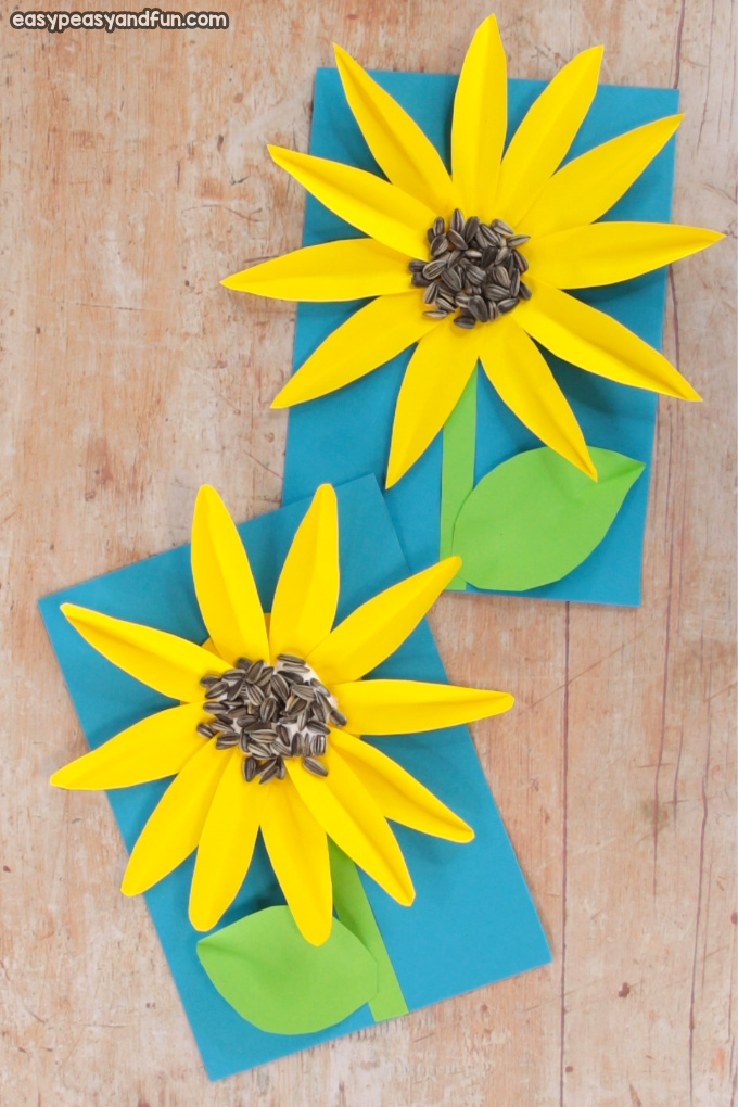 Paper Sunflower Craft