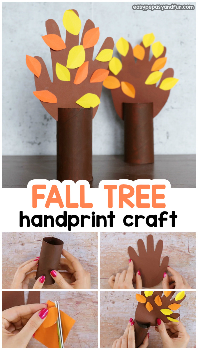 Fall Handprint Tree Easy Peasy And Fun