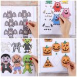 Printable Halloween Quiet Book