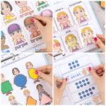 Printable People Quiet Book - Activity Book