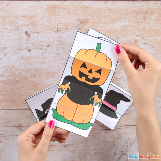 Surprise Halloween Pumpkin Cards Craft