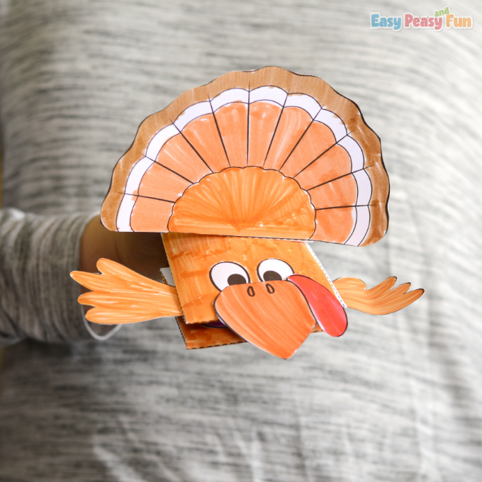 Turkey Puppet Printable