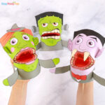 Halloween Puppets Templates