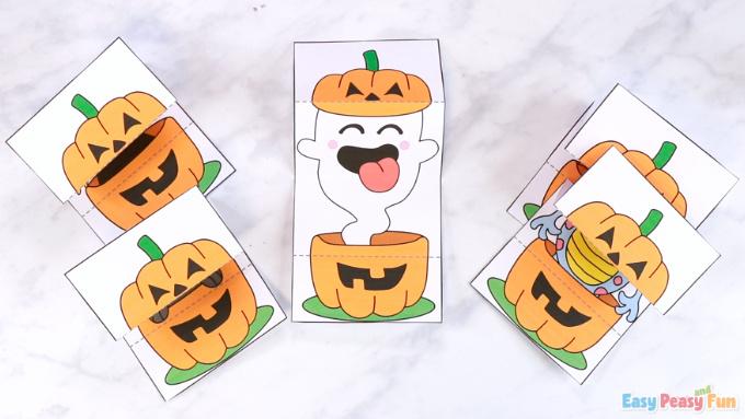 Surprise Pumpkin Halloween Cards