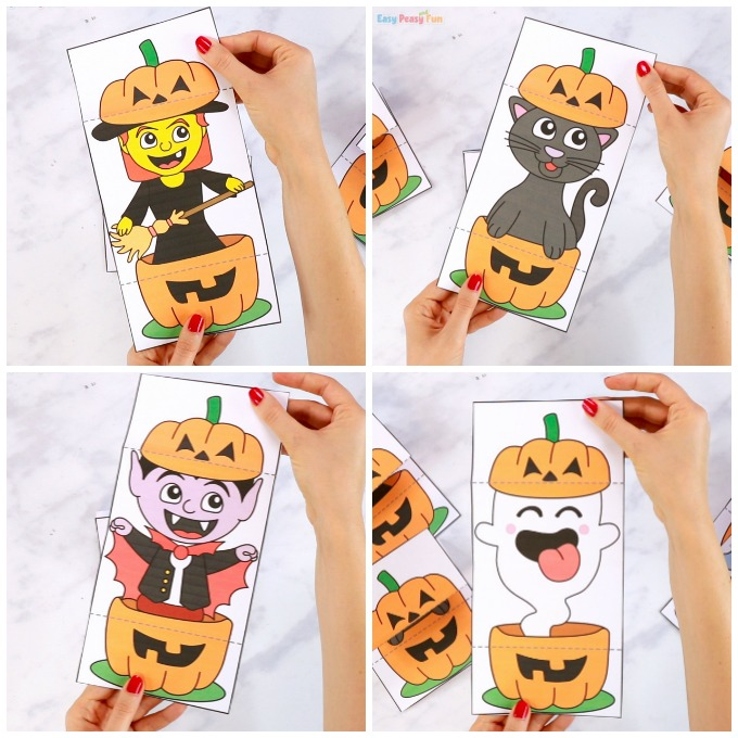 Surprise Pumpkin Halloween Cards Printables