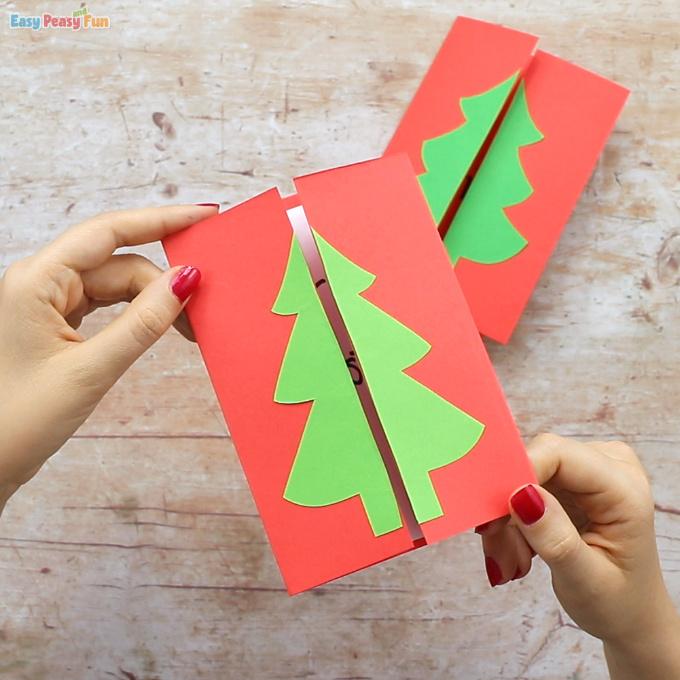 Christmas Tree Card Idea