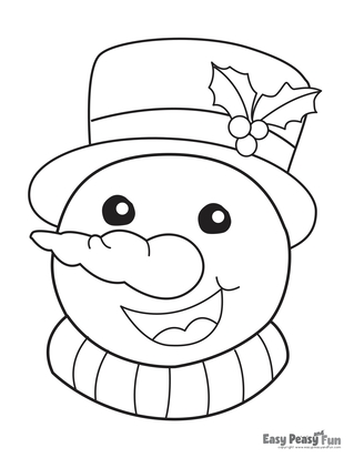 9+ Christmas Coloring Pages