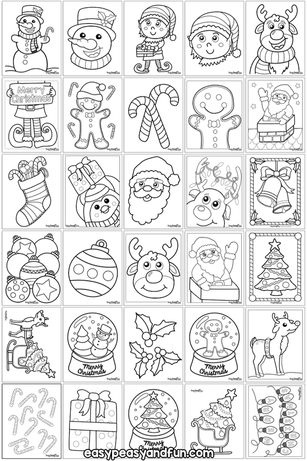 Adult Coloring Pagebook Cute Christmas Puppydog Stock Vector ... | 900x600