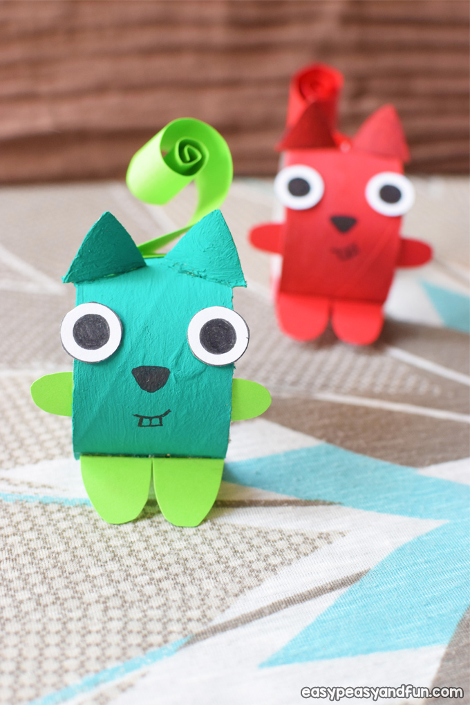 Squirrel Toilet Paper Roll Craft for Kids
