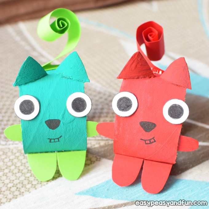 Squirrel Toilet Paper Roll Craft for Kids to Make