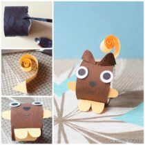Squirrel Toilet Paper Roll Craft