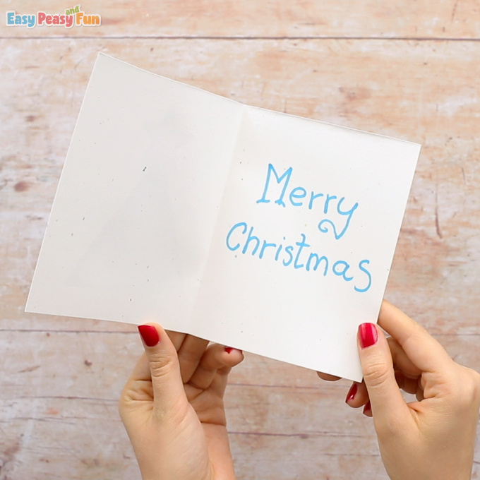 3D Christmas Tree Card DIY