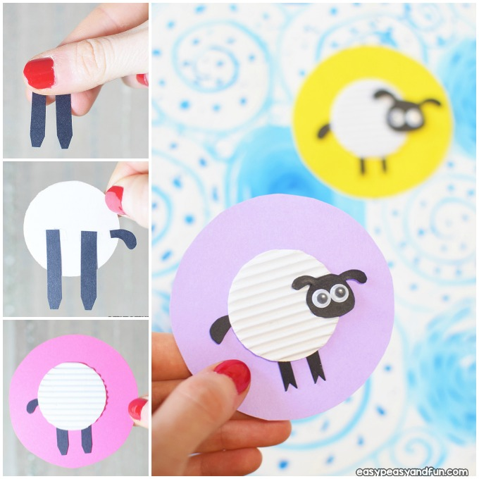Easy Sheep Craft Idea