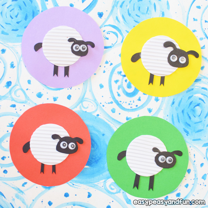 Easy Sheep Craft for Kids to Make