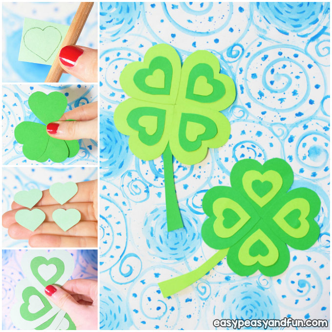 Four Leaf Clover Craft Idea