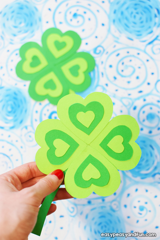 Four Leaf Clover Craft for Kids