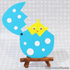 Easter Hatching Chick Paper Craft for Kids to Make