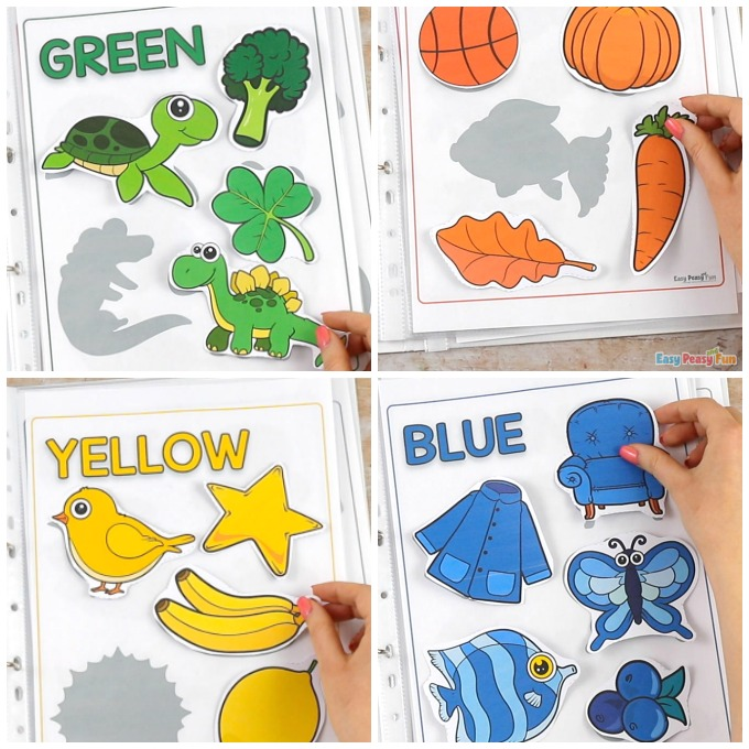 Printable Colors Activity Book