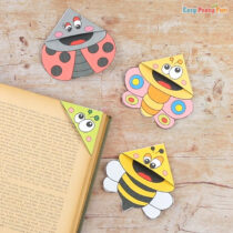 Bugs Corner Bookmarks With Template