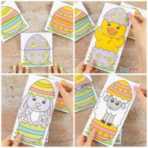 Surprise Easter Egg Cards Craft