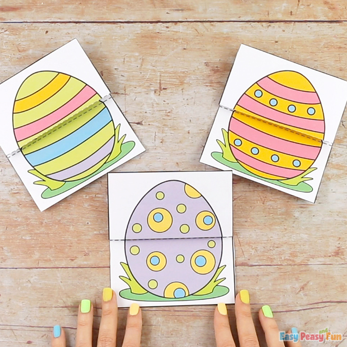Surprise Easter Egg Cards Craft